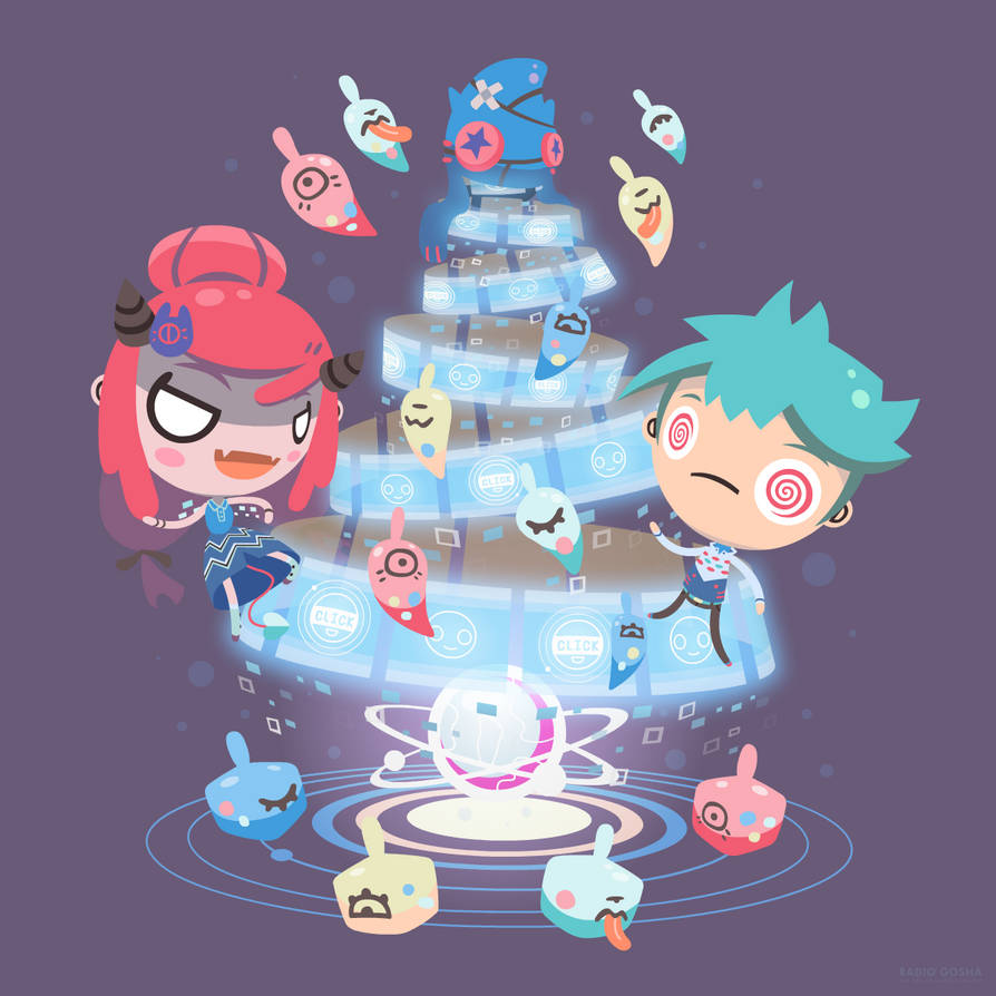 Merry Clickmas 2018 by GoshaDole