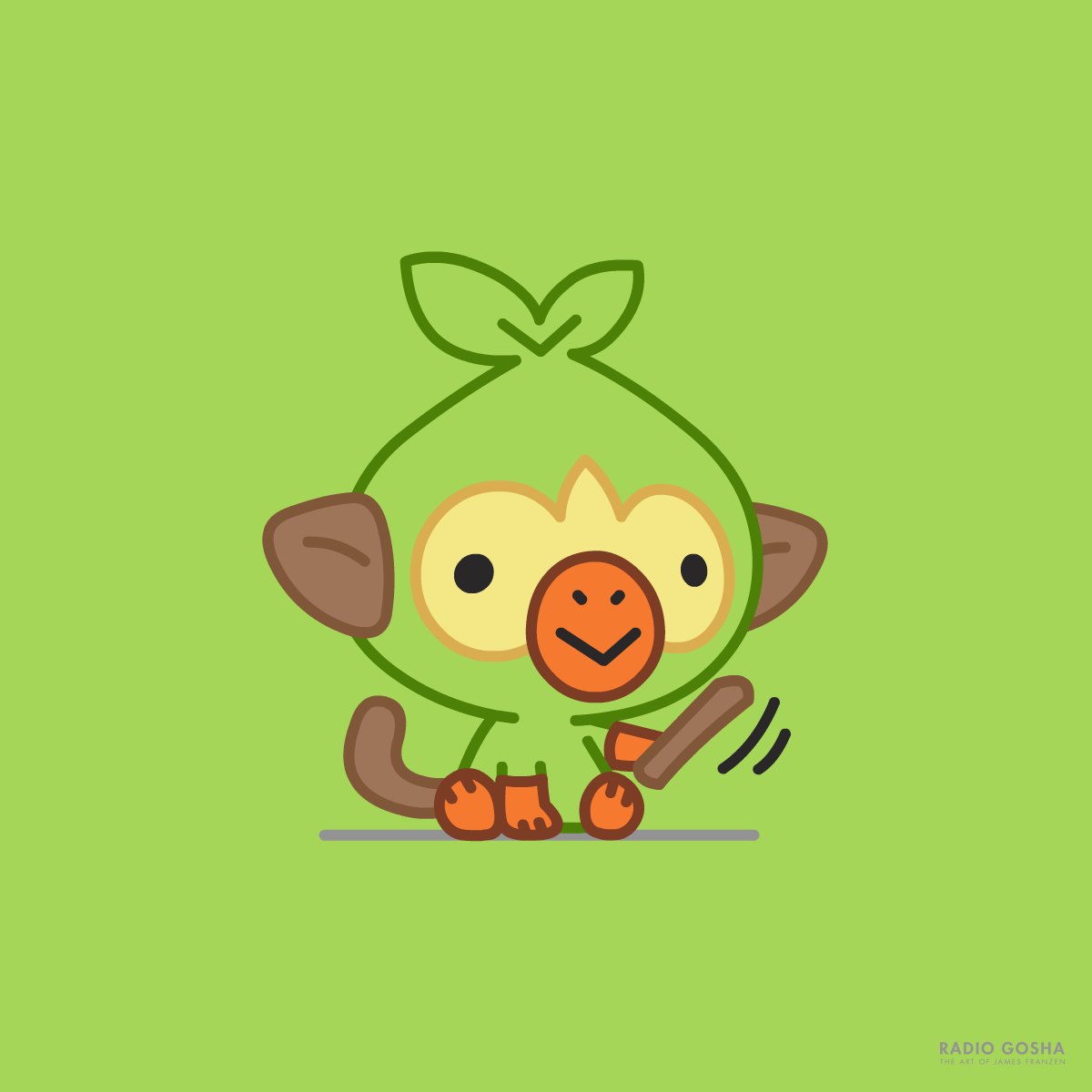 Grookey Pokemon Sword And Pokemon Shield By Goshadole On Deviantart If you're new, welcome to my channel! grookey pokemon sword and pokemon