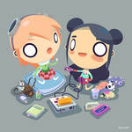 Radio Gosha 50k subscriber illustration