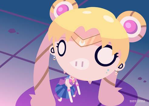 Sailor Moon redraw Radio Gosha