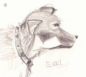Ekki Dog - Sketch 2 by PoizonMyst