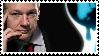 Assange - Wikileaks Logo Stamp by PoizonMyst