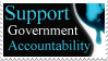 Support Govt Accountability by PoizonMyst