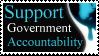 Support Govt Accountability by PoizonMyst