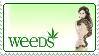 Weeds Stamp by PoizonMyst