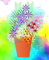 Flowers In Pot 1 by PoizonMyst