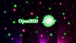 Sparkles OpenBSD 1600x900 by stumpy666davies
