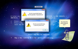 Comical Blue Screen Of Death by stumpy666davies