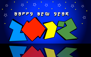 Happy New Year 2012 by stumpy666davies