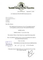 20th Century Fox SPOOF Copyright Letter by stumpy666davies