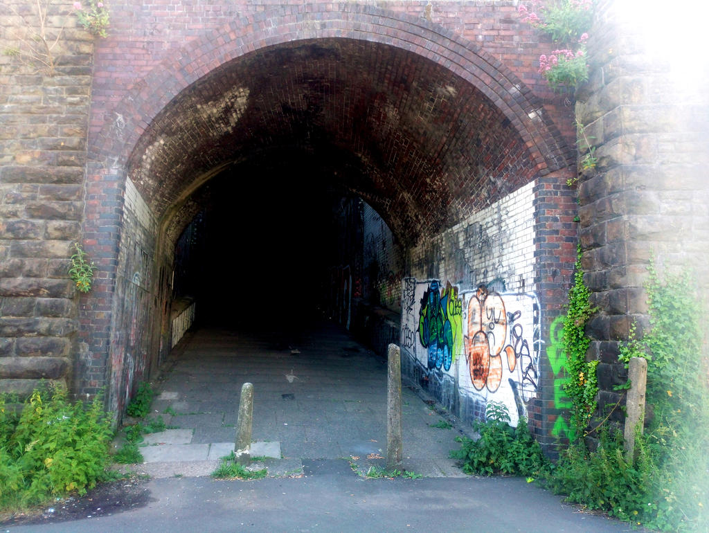 Tunnel Swansea Strand to the High Street by stumpy666davies