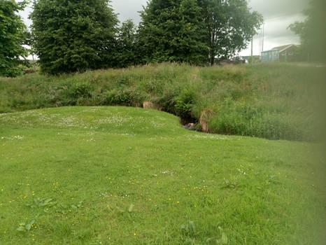 Banwen Tiny Stream Roman Road