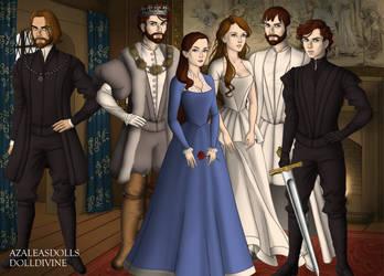 the Royal House of Stark by klassickasey