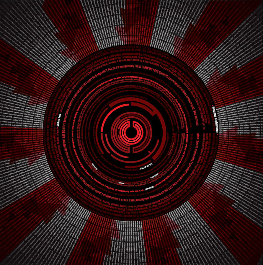 Pendulum Typographic Design by CMA3D