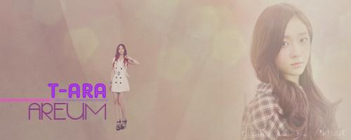 Areum of T-ara by DiviningLight