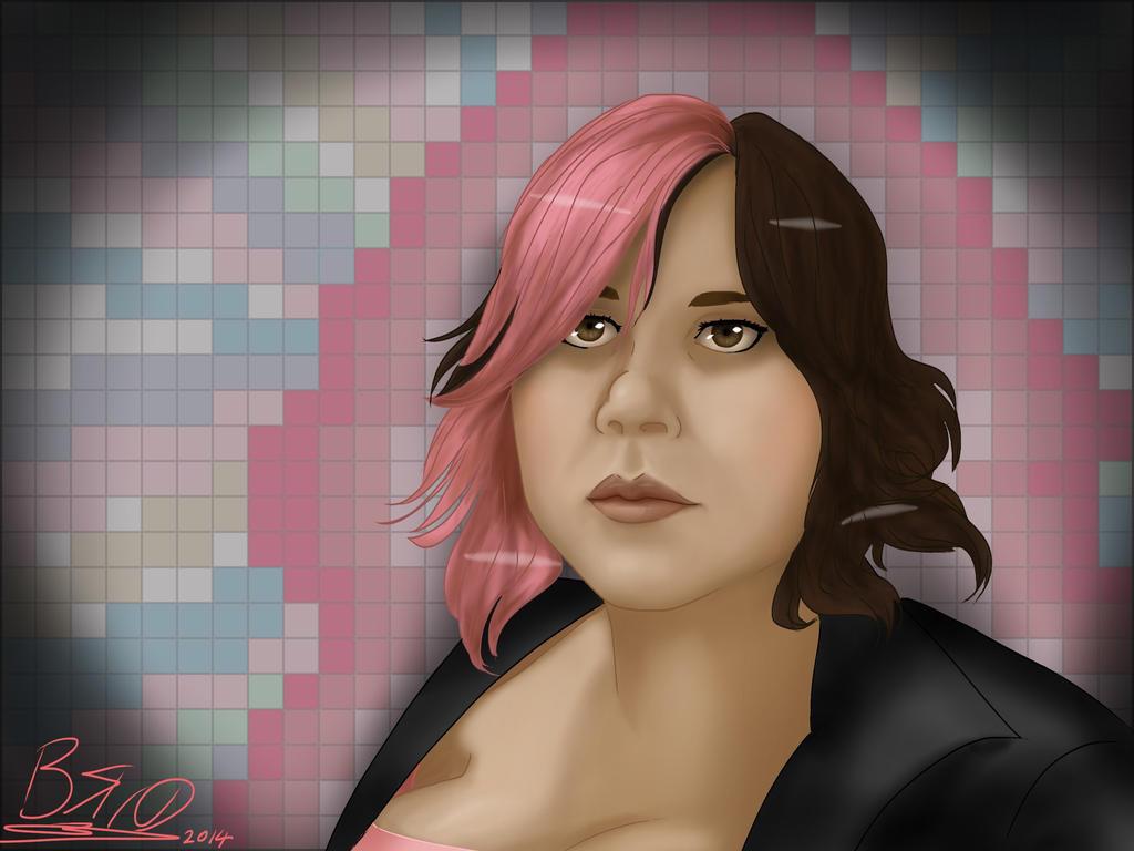Self portrait by kara-yasuragi