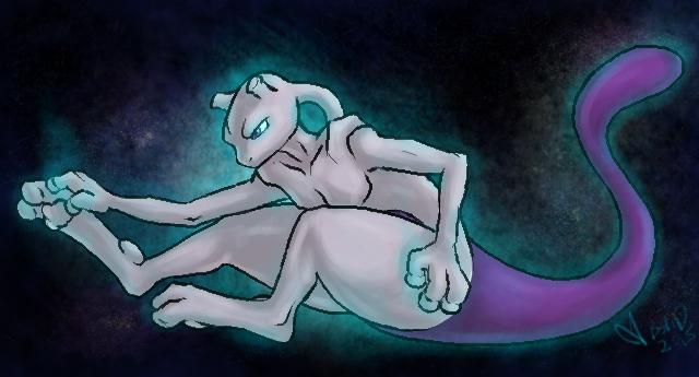Mewtwo Stretch by Bridgeotto