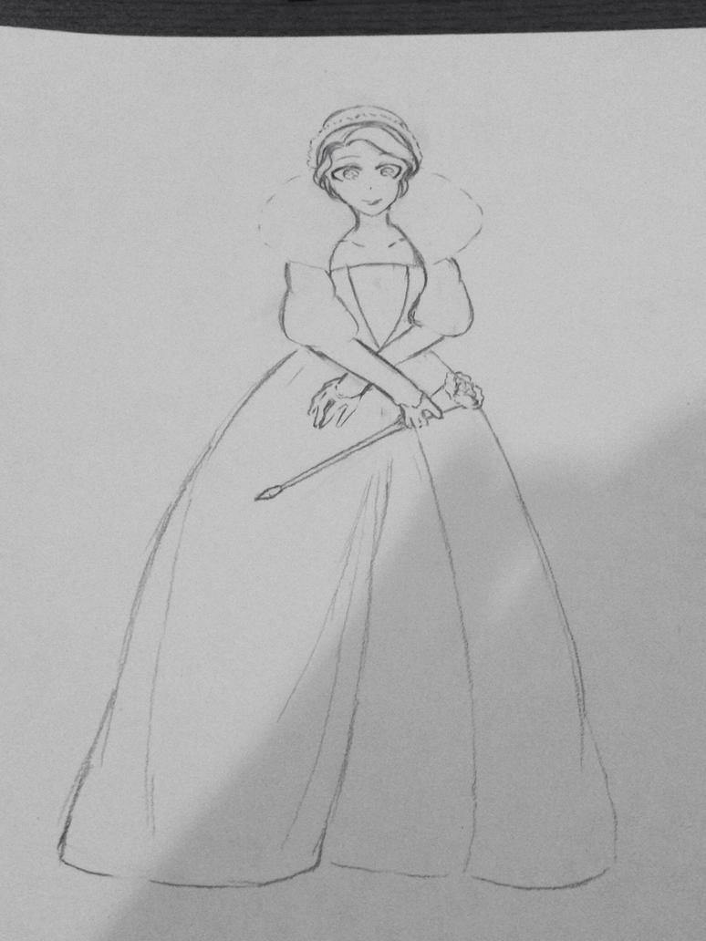 Admoneo: Queen of Heart/Thorns Verania Belross by misschocoholic