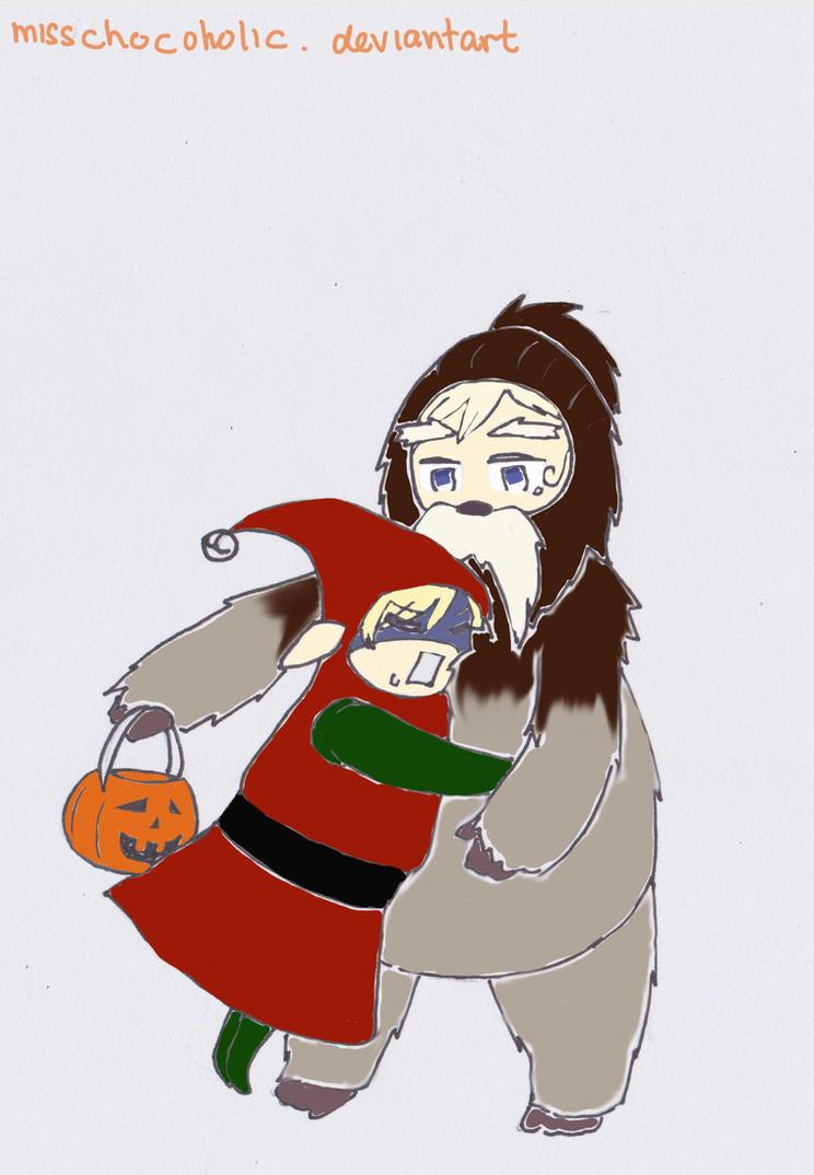 APH Halloween Exchange For Mel~ by misschocoholic