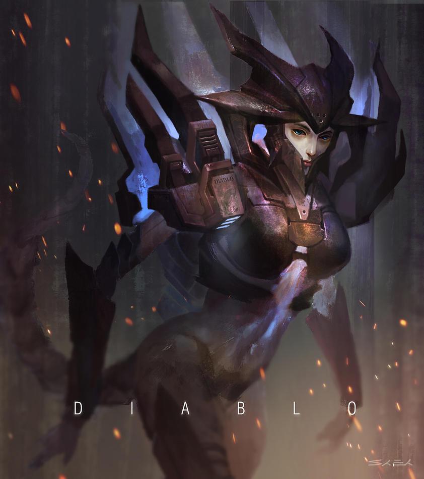 Diablo Girl.............again! by bongbaba