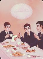 Cream Tea by Frozen-lullaby