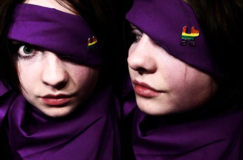 Purple by woffs