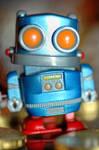 toy robot by cheechwizard