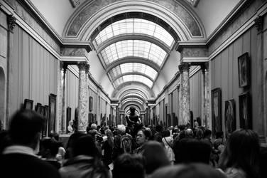 inside de Louvre by cheechwizard