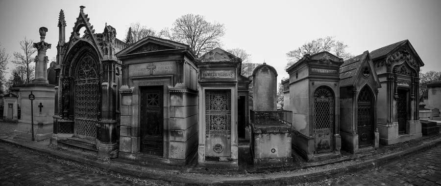 Pere Lachaise Cemetery by cheechwizard