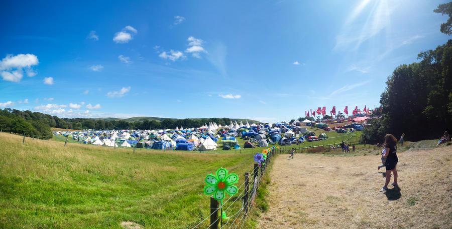Camp Bestival by cheechwizard