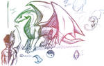 Dragons sketch1