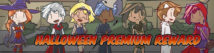 Halloween Patreon Reward by Saber-Cow