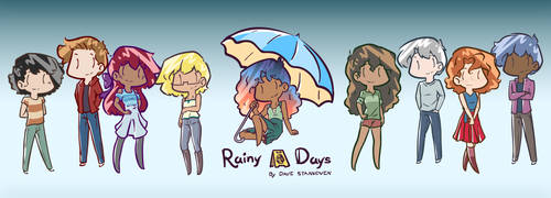 Rainy Days Banner 2018 by Saber-Cow
