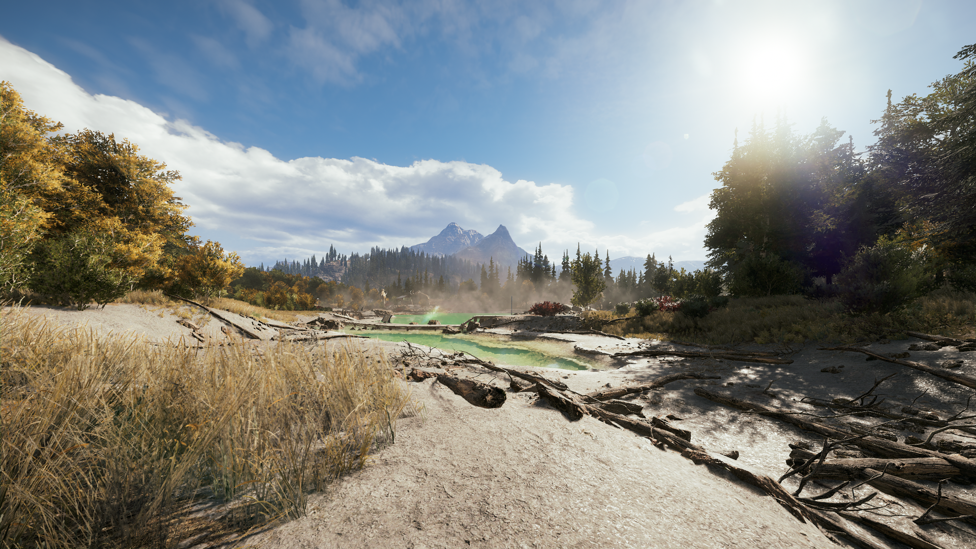 Big Lakes Montana Far Cry 5 By F0v3r On Deviantart