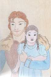 Ned and Arya by Moviepark