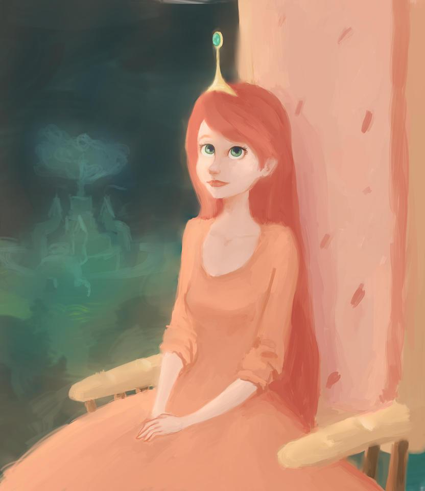bonnibel painting by Ruarw