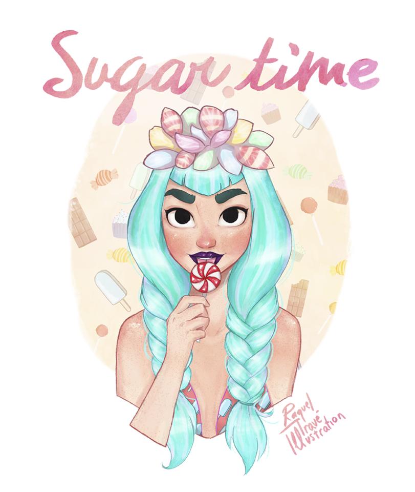 Sugar Time by Misspingu