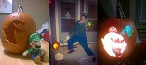 King Boo Jack-O-Lantern!!