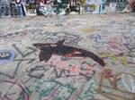 Graffiti Wall 6 - Graffi Shark by MWaters