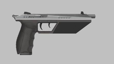 9mm Pistol by LoneWolfAssassin