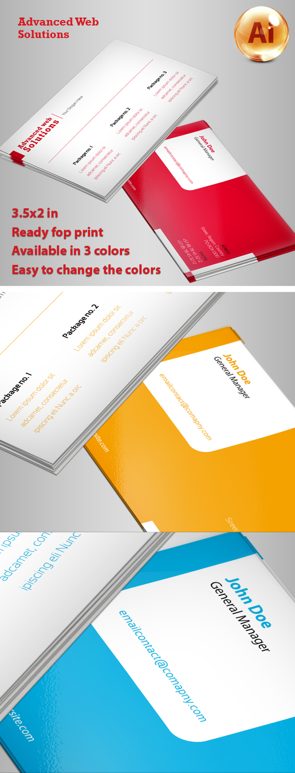 Advanced Business Card by Advero