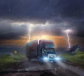 Truck by Jaymeanoiche