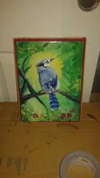 Blue Bird by Jaymeanoiche