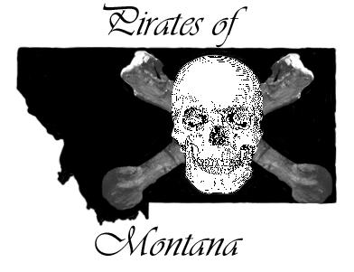 Pirates of Montana Flag - New by TarryAGoat