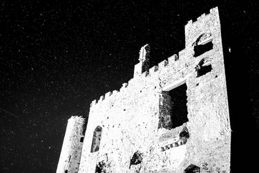 Laugharne Castle by Night