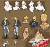 Character Design Exercise by Hisshi