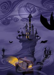 Dracula's Castle by Hisshi
