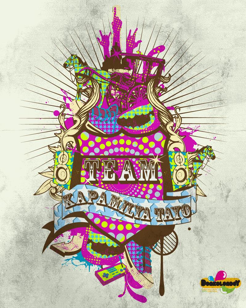 Team Kapamilya Tee Design by donkolondoy