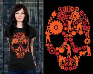 Mech Skull by donkolondoy