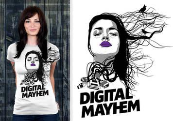 Digital Mayhem by donkolondoy